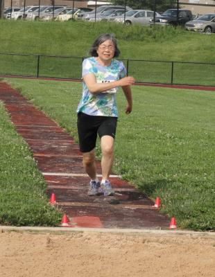 Track and Field-Long Jump
