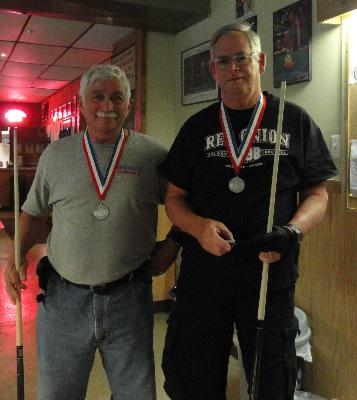 Dominick Cacciatore and Joseph Turner-Silver Medalists in Men's Doubles Billiards