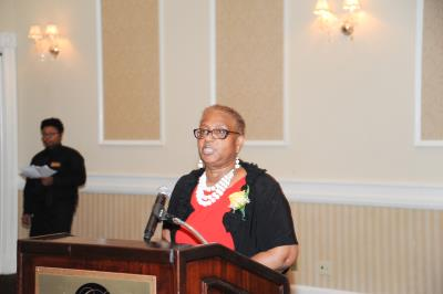 Denise V. Stewart, Director of COSA welcomes guests.