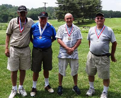 9 Hole Golf medal winners