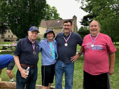 Bocce bronze medalists