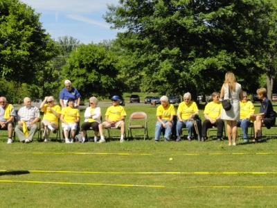 The 2016 Delaware County Senior Games opened with Bocce at Rose Tree Park in Media.