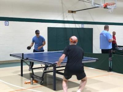 Table Tennis competition heats up!