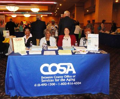 Delaware County Office of Services for the Aging (COSA), host of the Senior Living Expo.