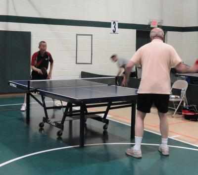 Table Tennis at Upper Darby Senior Center