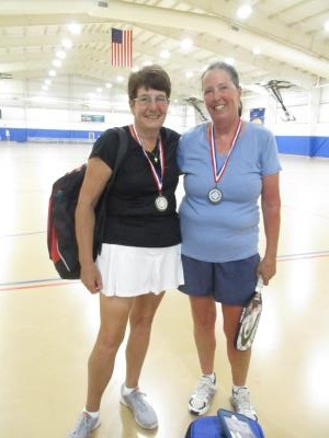Pickleball medalists