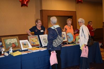 Schoolhouse Senior Center displays some of the artwork created by members