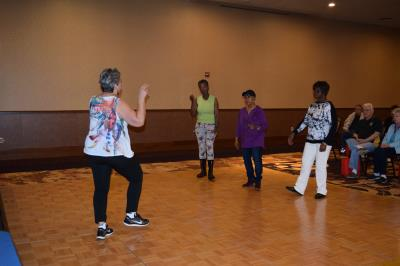 Friendship Circle Senior Center cardio exercise