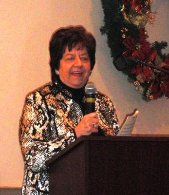Mary Anne Varacalli, Foster Grandparent Program Advisory Council Chairperson