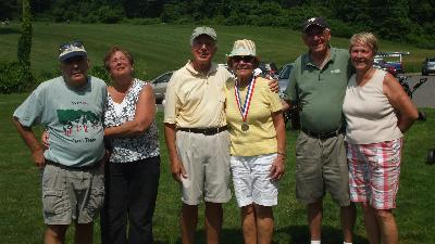 Jay and Harriet Harowitz, Joe and Karen Speakman, and Earnest and Sharon Dansby