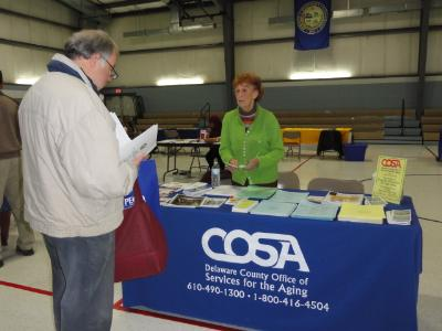 COSA presents information on services available to Delaware County residents age 60 and older.