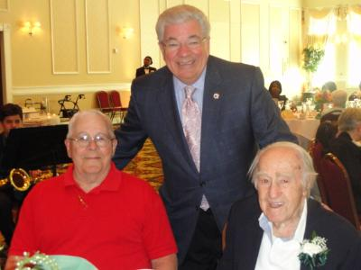 Council Vice Chair, Mario J. Civera, Jr. and Joseph Borrelli, 100.