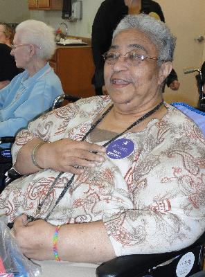 P.E.E.R. graduate, Betty Sewell