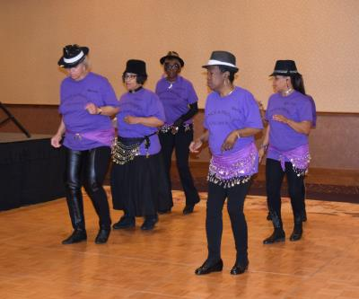 Line Dancers from Chester Senior Center