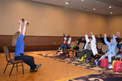 Hometown Senior Center Chair Yoga