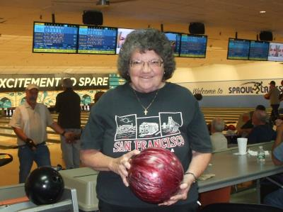 Pat McCoach picks the perfect ball for strikes.