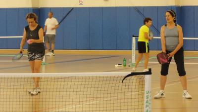 Pickleball at BYC's O'Donoghue Fieldhouse, Concord
