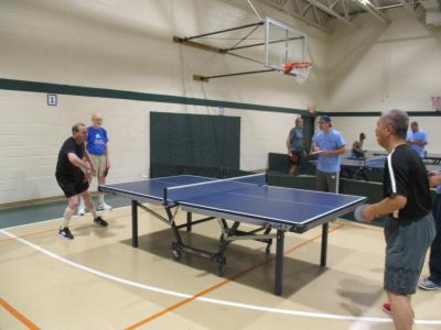 Table Tennis Doubles competition
